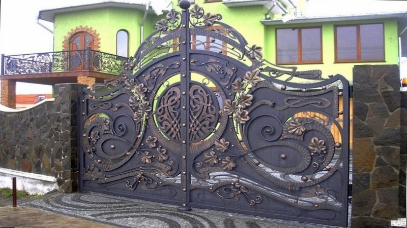 Художественная ковка ворот