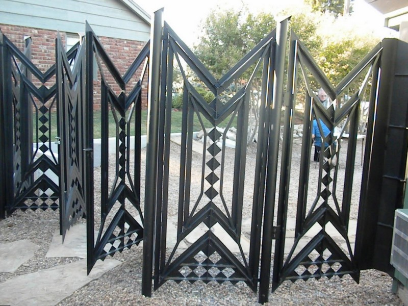 Складные ворота