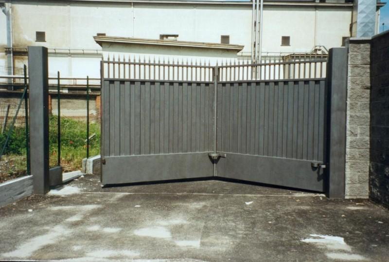 складывающиеся ворота