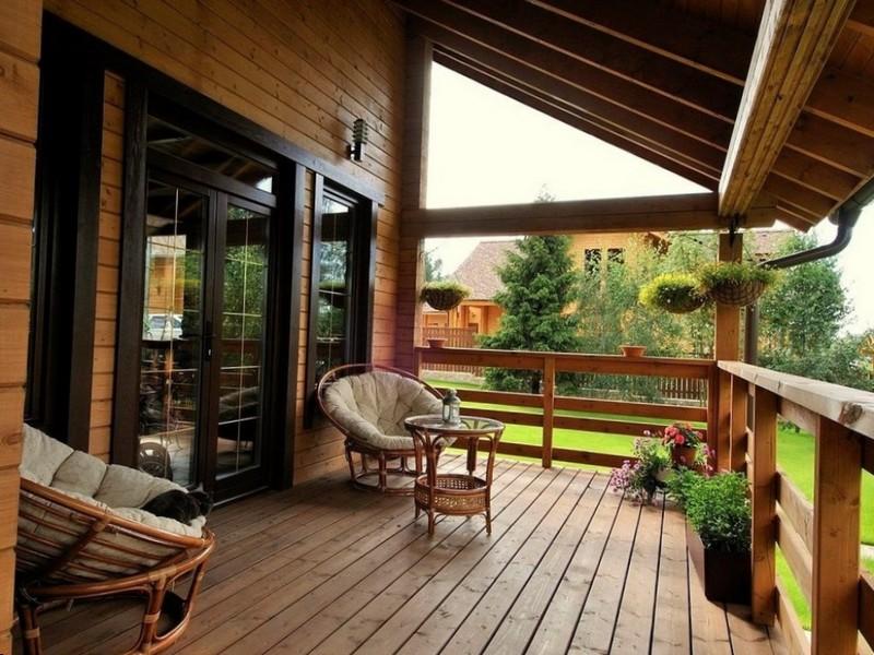 Дизайн террасы загородного дома