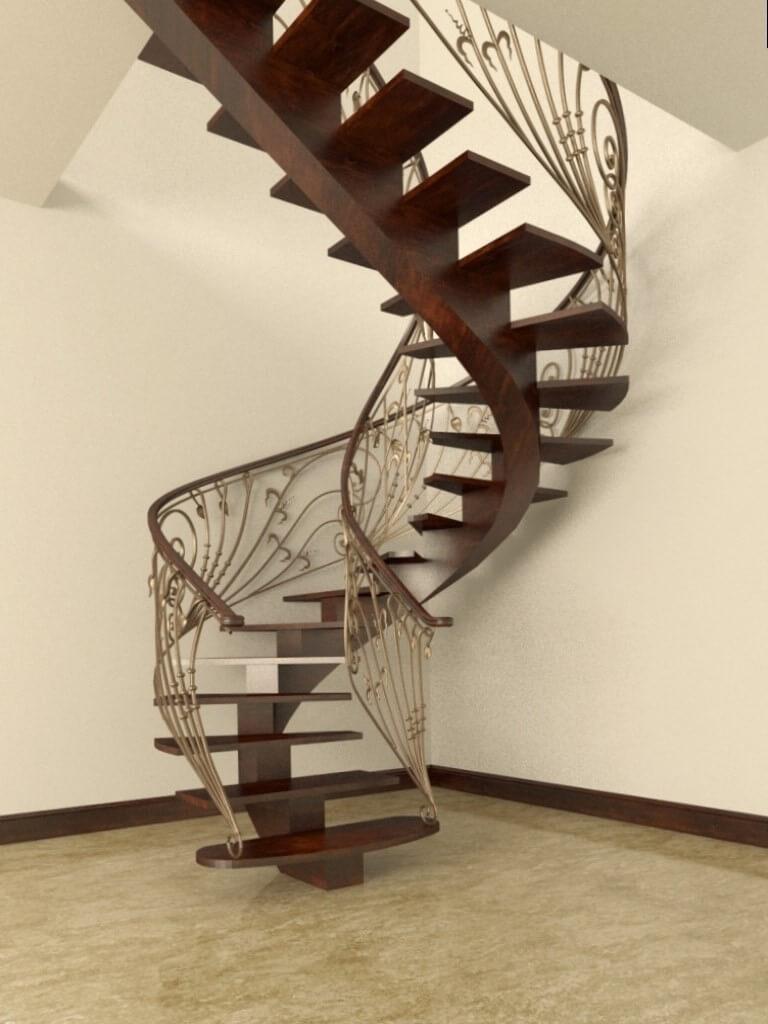 дизайн винтовых лестниц фото