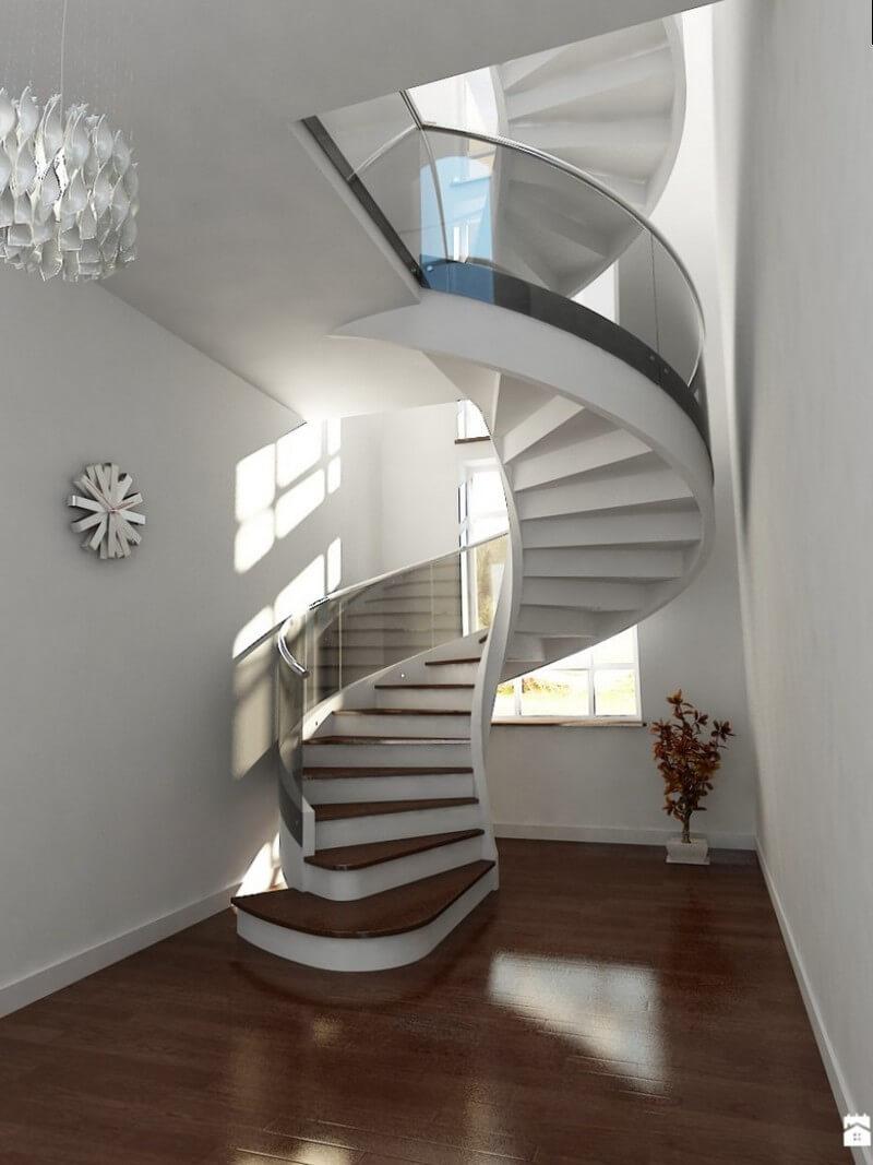Винтовая лестница для частного дома